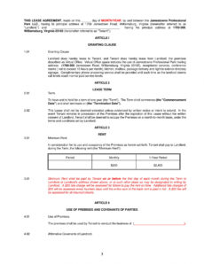 editable free 5 office lease agreement contract forms in pdf virtual office agreement template pdf