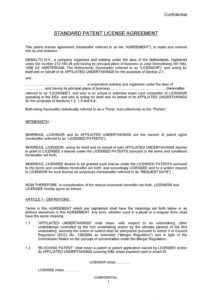 free 50 professional license agreement templates ᐅ templatelab service license agreement template word