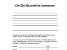 free free 11 sample resolution agreement templates in pdf ms word resolution agreement template word