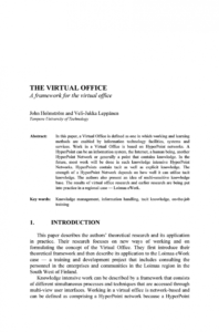 free pdf the virtual office virtual office agreement template sample