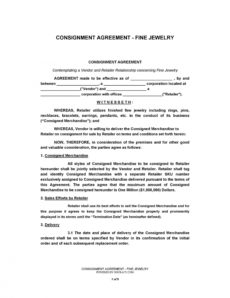 printable 40 best consignment agreement templates & forms ᐅ templatelab auto consignment agreement template pdf