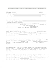 editable 37 simple purchase agreement templates real estate business basic purchase agreement template word