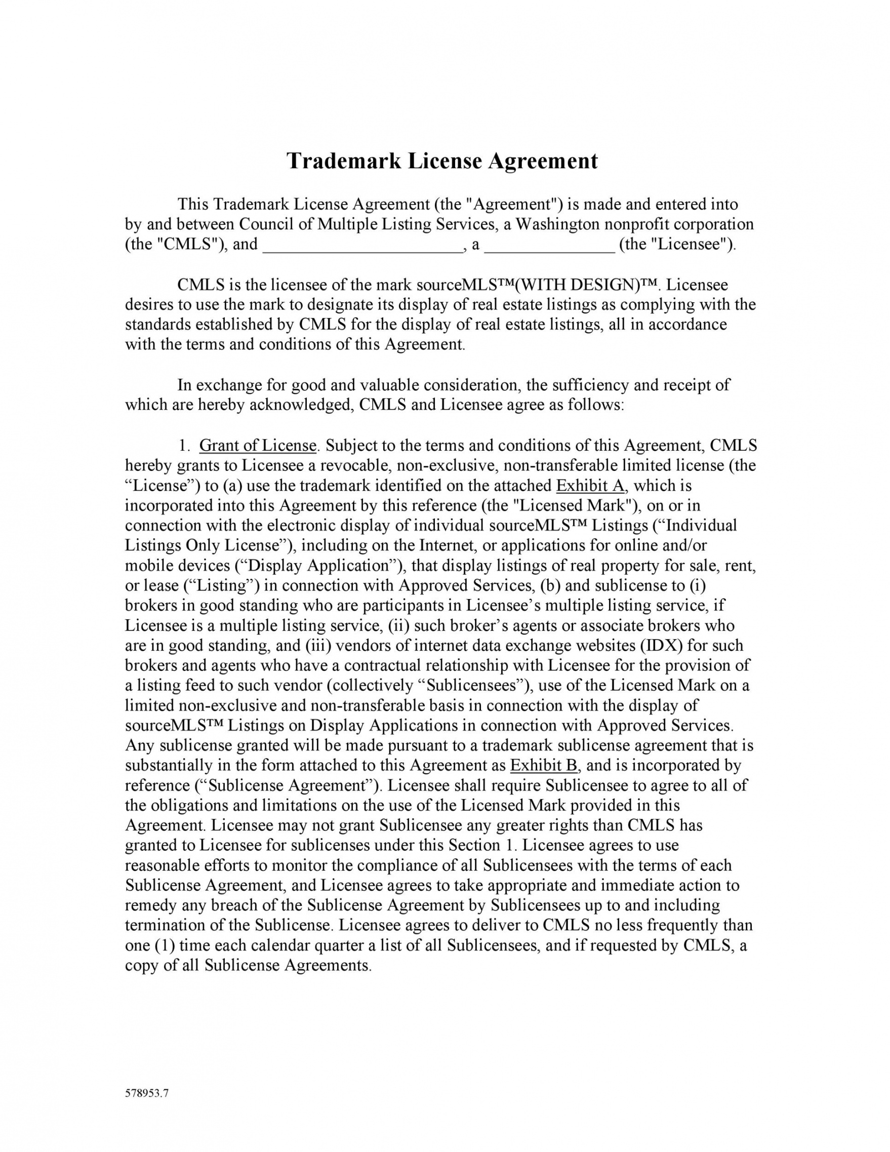 editable 50 professional license agreement templates ᐅ templatelab real estate license agreement template word