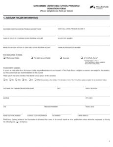 free 5 charity donation forms in pdf  ms word charitable donation agreement template example