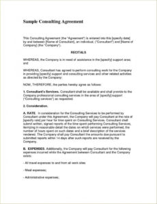 free consulting contract examples to use for your business marketing consulting agreement template doc