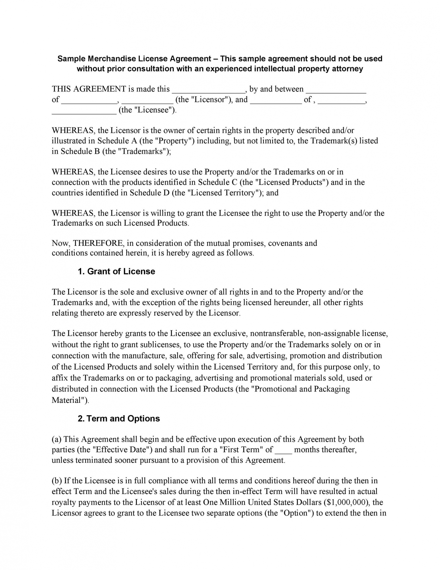 printable 50 professional license agreement templates ᐅ templatelab product license agreement template example