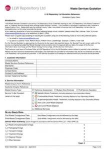 printable 9 service quote templates  pdf  free & premium templates pest control service agreement template