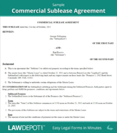 printable commercial sublease agreement template us lawdepot commercial sublease agreement template pdf
