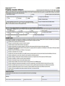 sample free 10 property transfer forms in pdf  ms word  excel property transfer agreement template sample
