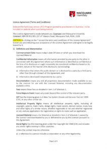 editable 50 professional license agreement templates ᐅ templatelab ip license agreement template excel