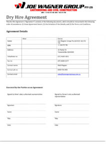 editable free 10 hire agreement contract forms in pdf  ms word hiring agreement template
