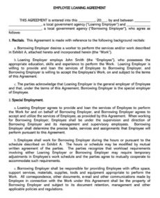 printable free personal loan agreement templates & samples word  pdf private agreement template doc