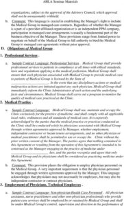 sample contracting physician practice management  pdf free download mso agreement template