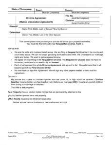 42 divorce settlement agreement templates 100% free ᐅ divorce settlement agreement template doc