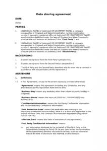 editable data sharing agreement mutual  docular data processor agreement template gdpr pdf