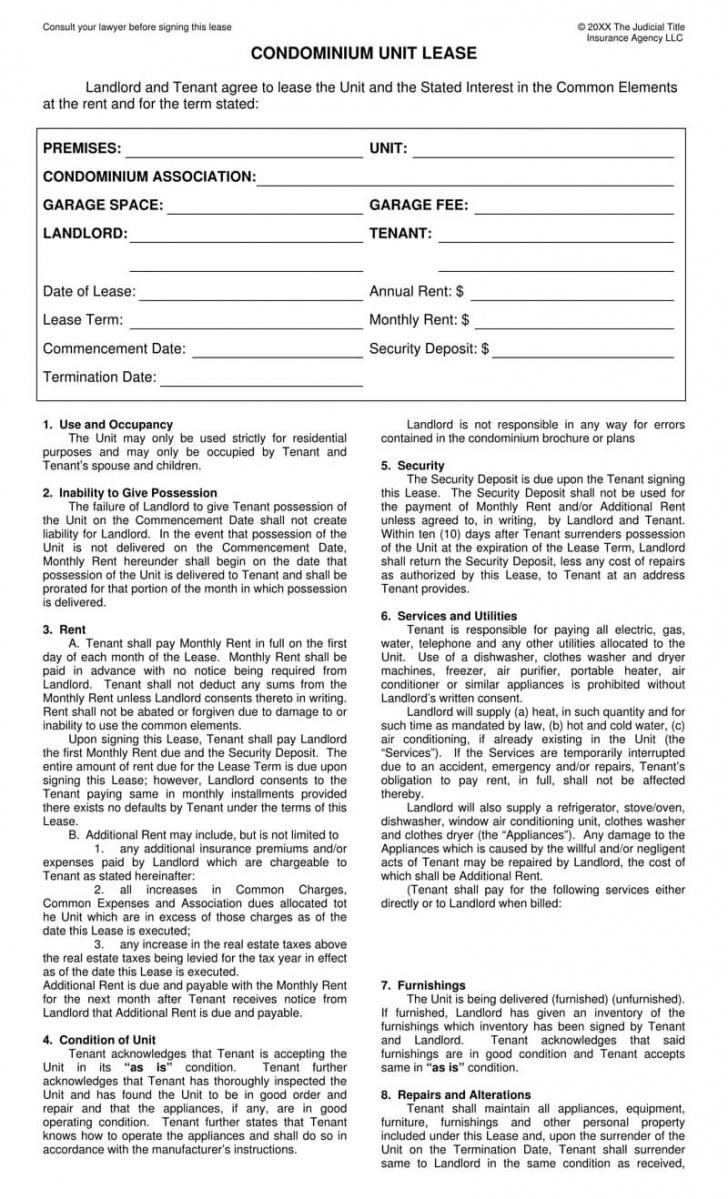 editable free condominium condo lease agreement templates by state condo lease agreement template word