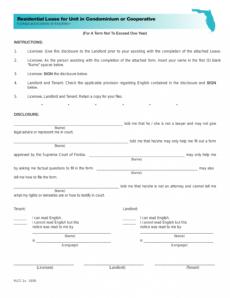 editable free florida condominium condo lease agreement template condo lease agreement template word