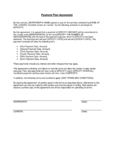 editable payment plan agreement template businessinabox™ payment terms agreement template doc