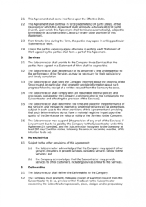 editable subcontractor framework agreement standard  docular framework agreement template