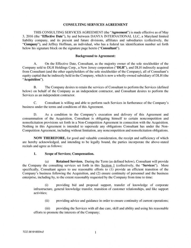 free tco 361918554v2 1 consulting services agreement this consulting for equity agreement template word