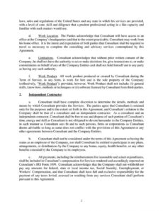 sample a101consultingagreement consulting for equity agreement template pdf