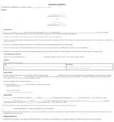sample free new york marital separation agreement  legal nys separation agreement template doc