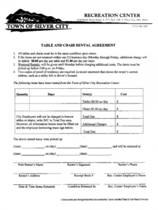 tables and chairs rental agreement form  fill out and sign printable pdf  template  signnow furniture rental agreement template example