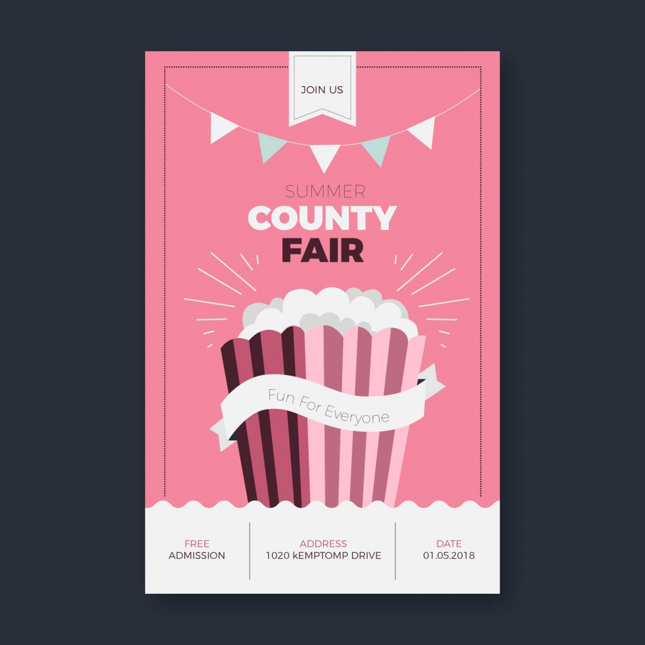 cute county fair flyer template  download free vectors county fair poster template pdf