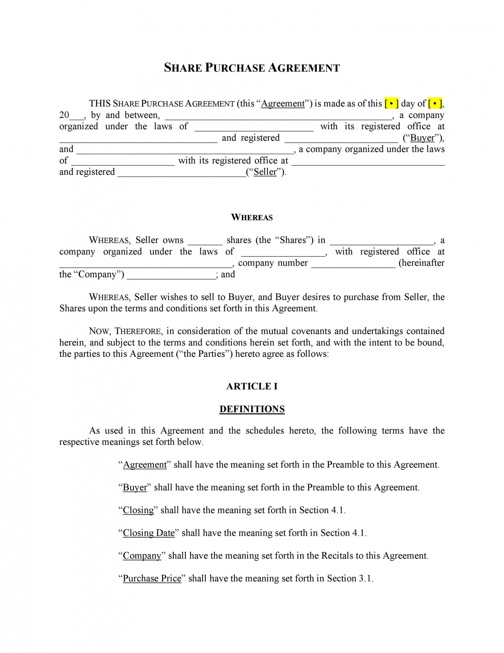 free 37 simple purchase agreement templates real estate business sale of house agreement template word