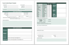 printable free incident report templates & forms  smartsheet accident investigation form template sample