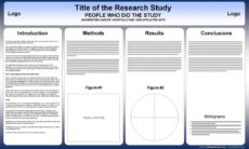 printable free powerpoint scientific research poster templates for conference poster presentation template word