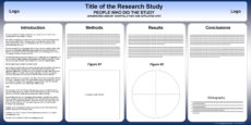 sample free powerpoint scientific research poster templates for conference poster presentation template doc