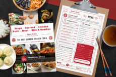 chinese restaurant menu template  psd ai & vector  brandpacks asian restaurant menu template word