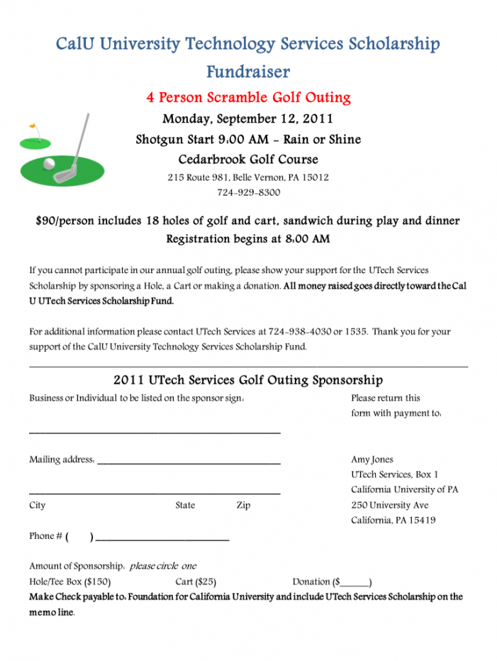 editable golf tournament registration form pdf  fill out and sign printable pdf  template  signnow golf tournament registration form template