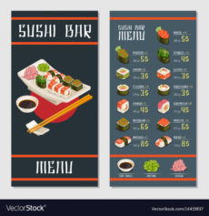 sample japanese restaurant menu template japanese menu template