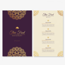sample thai food restaurant menu template  download free vectors asian restaurant menu template excel