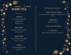 editable 32 free simple menu templates for restaurants cafes and fancy restaurant menu template pdf