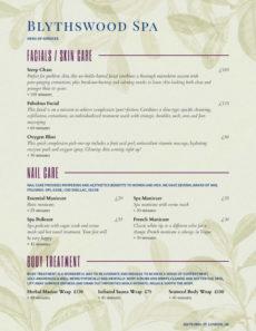 editable salon menu templates from imenupro nail salon service menu template sample