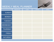 free 40 weekly meal planning templates ᐅ templatelab diet menu template pdf