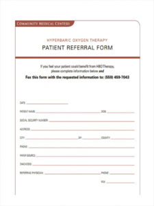 free 7 medical referral forms in pdf  ms word doctor referral form template excel