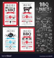 free barbecue party invitation bbq template menu design barbecue menu template doc
