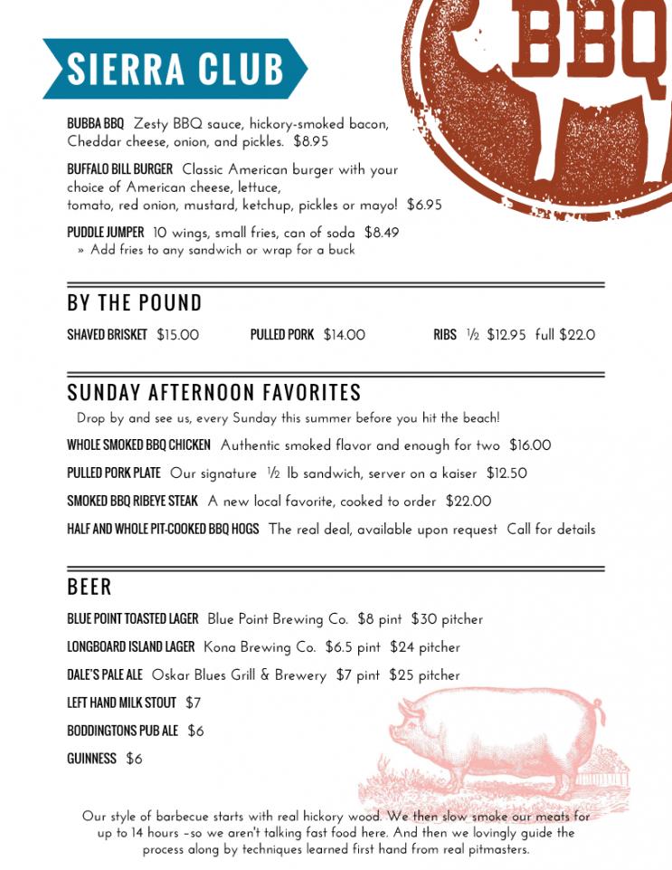 free imenupro · restaurant menu template gallery menu software bbq catering menu template excel