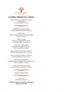 high tea menu template  2 free templates in pdf word tea party menu template doc