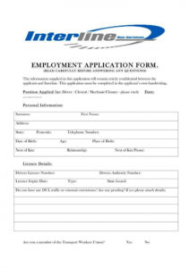 sample 7 driver application form templates  pdf  free & premium motorcycle club membership application form template