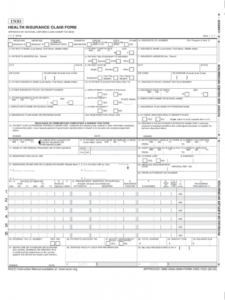 sample insurance claim form  3 free templates in pdf word excel medical insurance claim form template excel