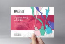 sample nail salon flyer template in psd ai & vector  brandpacks nail salon service menu template word