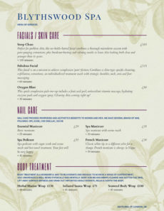 sample salon menu templates from imenupro salon service menu template word