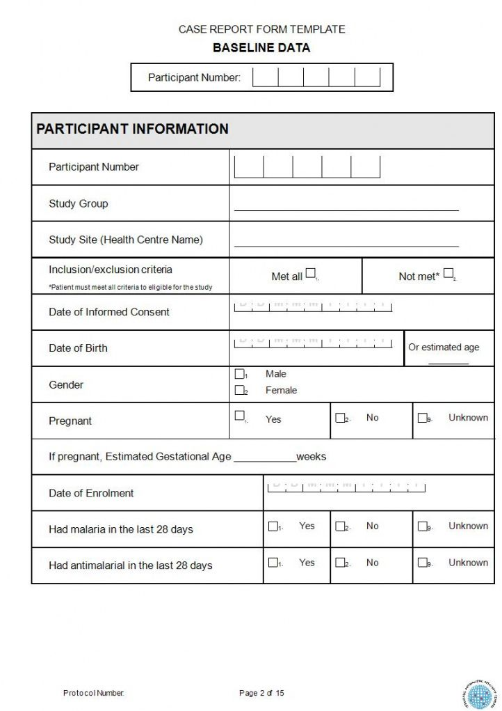 editable free 15 case report forms in pdf  ms word patient report form template doc