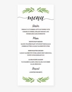 editable greenery baby shower menu card templatelittlesizzle baby shower menu template