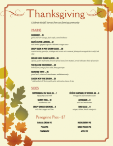 editable holiday menu templates from imenupro  more than just templates holiday menu template excel